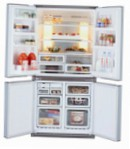 Sharp SJ-F75PCSL Fridge refrigerator with freezer, 605.00L