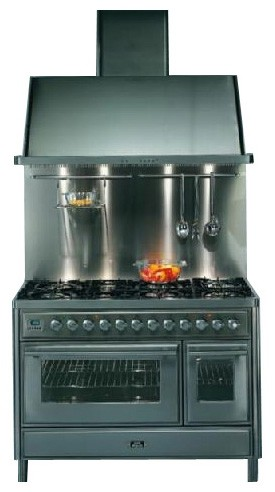 Characteristics, Photo Kitchen Stove ILVE MT-120F-VG Stainless-Steel