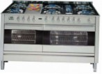 ILVE PF-150F-VG Stainless-Steel Kitchen Stove type of oven gas type of hob gas