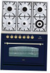 ILVE PN-906-VG Blue Kitchen Stove type of oven gas type of hob gas