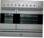 ILVE PD-90VL-MP Stainless-Steel Kitchen Stove type of oven gas type of hob combined