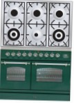 ILVE PDN-1006-VG Green Kitchen Stove type of oven gas type of hob gas