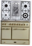 ILVE MCD-100RD-MP Antique white Kitchen Stove type of oven electric type of hob gas
