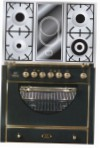 ILVE MCA-90VD-VG Matt Kitchen Stove type of oven gas type of hob combined
