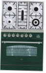 ILVE PN-80-VG Green Kitchen Stove type of oven gas type of hob gas