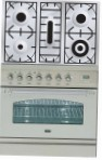 ILVE PN-80-VG Stainless-Steel Kitchen Stove type of oven gas type of hob gas
