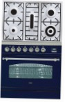 ILVE PN-80-VG Blue Kitchen Stove type of oven gas type of hob gas
