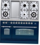 ILVE PN-120F-VG Blue Kitchen Stove type of oven gas type of hob gas