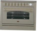 ILVE P-90VN-MP Antique white Kitchen Stove type of oven electric type of hob combined