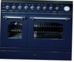 ILVE PD-90BN-MP Blue Kitchen Stove type of oven electric type of hob combined