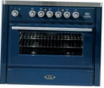 ILVE MT-90B-MP Blue Kitchen Stove type of oven electric type of hob combined