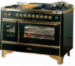 ILVE M-120V6-MP Green Kitchen Stove type of oven electric type of hob combined