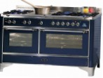 ILVE M-150F-VG Blue Kitchen Stove type of oven gas type of hob combined