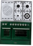 ILVE MTD-100SD-E3 Green Kitchen Stove type of oven electric type of hob gas