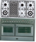 ILVE MTS-120BD-E3 Stainless-Steel Kitchen Stove type of oven electric type of hob gas