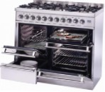 ILVE PTQ-1006-MP Stainless-Steel Kitchen Stove type of oven electric type of hob gas