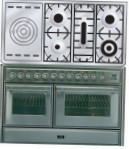 ILVE MTS-120SD-E3 Stainless-Steel Kitchen Stove type of oven electric type of hob gas