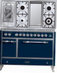 ILVE MC-120FRD-E3 Blue Kitchen Stove type of oven electric type of hob combined