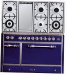 ILVE MC-120FD-E3 Blue Kitchen Stove type of oven electric type of hob gas