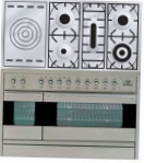 ILVE PF-120S-VG Stainless-Steel Kitchen Stove type of oven gas type of hob gas