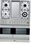 ILVE PDF-100F-VG Stainless-Steel Kitchen Stove type of oven gas type of hob gas
