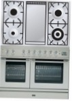 ILVE PDL-100F-VG Stainless-Steel Kitchen Stove type of oven gas type of hob gas