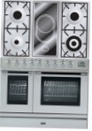 ILVE PDL-90V-VG Stainless-Steel Kitchen Stove type of oven electric type of hob combined