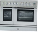 ILVE PDL-90V-MP Stainless-Steel Kitchen Stove type of oven electric type of hob combined