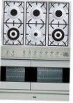 ILVE PDF-1006-VG Stainless-Steel Kitchen Stove type of oven gas type of hob gas