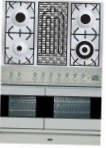 ILVE PDF-100B-VG Stainless-Steel Kitchen Stove type of oven gas type of hob gas