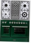 ILVE MTD-100BD-VG Green Kitchen Stove type of oven gas type of hob gas