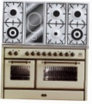 ILVE MS-120VD-VG Antique white Kitchen Stove type of oven gas type of hob combined