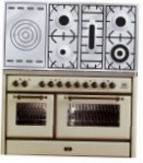 ILVE MS-120SD-VG Antique white Kitchen Stove type of oven gas type of hob gas