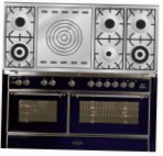 ILVE M-150SD-VG Blue Kitchen Stove type of oven gas type of hob gas