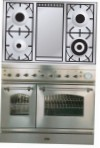 ILVE PD-100FN-MP Stainless-Steel Kitchen Stove type of oven electric type of hob combined