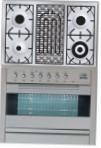 ILVE PF-90B-VG Stainless-Steel Kitchen Stove type of oven gas type of hob combined