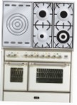 ILVE MD-100SD-VG Antique white Kitchen Stove type of oven gas type of hob gas