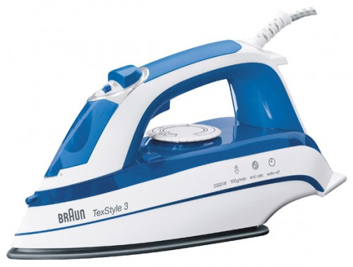 Characteristics, Photo Smoothing Iron Braun TexStyle TS355A