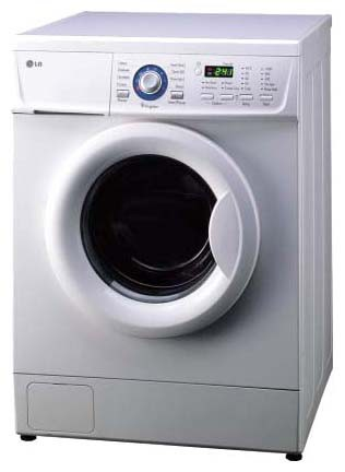 Characteristics, Photo Washing Machine LG WD-80160N