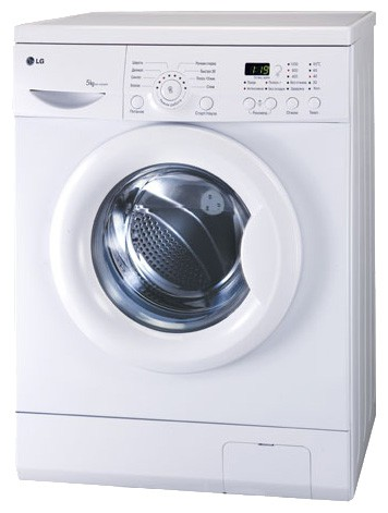 Characteristics, Photo Washing Machine LG WD-10264N