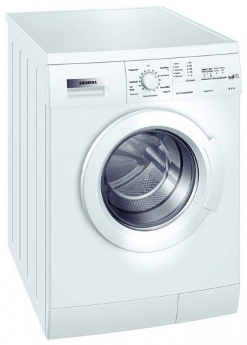 Characteristics, Photo Washing Machine Siemens WM 14E163