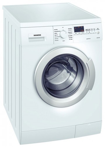 Characteristics, Photo Washing Machine Siemens WM 14E4M3