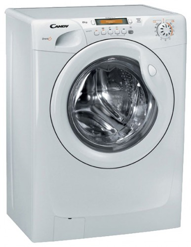 Characteristics, Photo Washing Machine Candy GO4 106 TXT