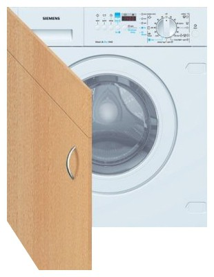 Characteristics, Photo Washing Machine Siemens TF 24T558