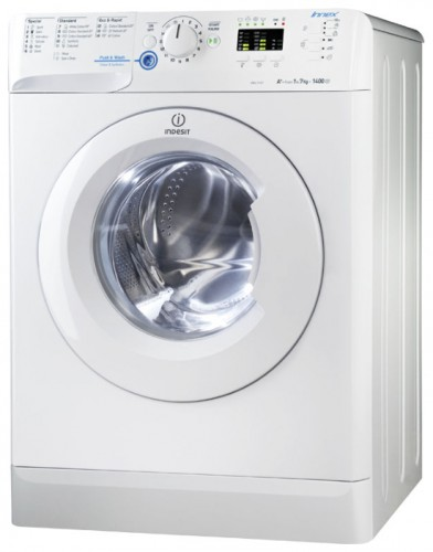 Characteristics, Photo Washing Machine Indesit XWA 71451 W