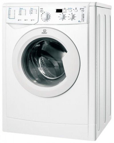 Characteristics, Photo Washing Machine Indesit IWUD 4105