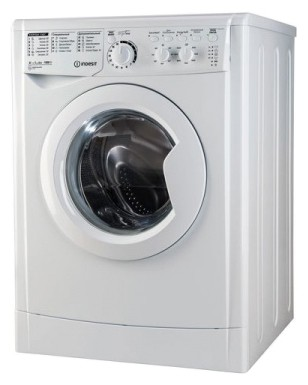 Characteristics, Photo Washing Machine Indesit EWSC 61051
