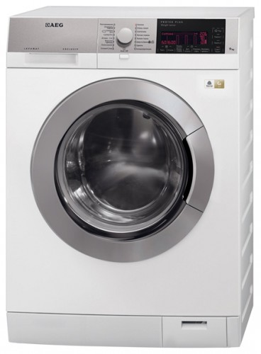 Characteristics, Photo Washing Machine AEG L 59869 FL